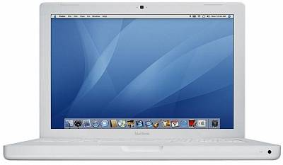 Apple MacBook white MB062 (2.2GHz/Intel Core 2 Duo/ 1GB/ 120GB/ SD/ BT/ AE)