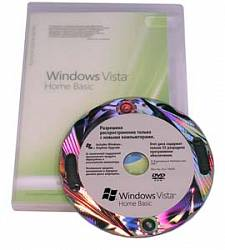 Microsoft Windows Vista Home Basic 32-bit Russian 1pk DSP OEI DVD, PartNumber 66G-00590