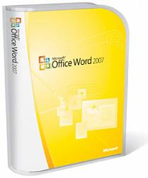Word Home and Student 2007 Win32 English CD, PartNumber 79F-00006