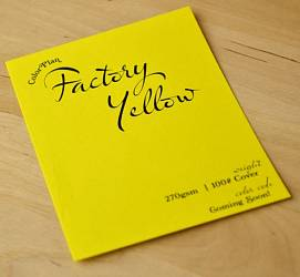Colorplan Factory Yellow 135