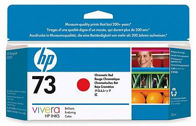 Картридж HP Pigment Ink Cartridge №73 Chromatic Red (CD951A)