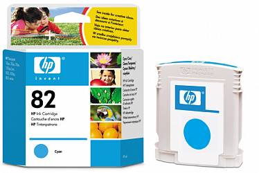 Картридж HP Inkjet Cartridge №82 Cyan (C4911A)